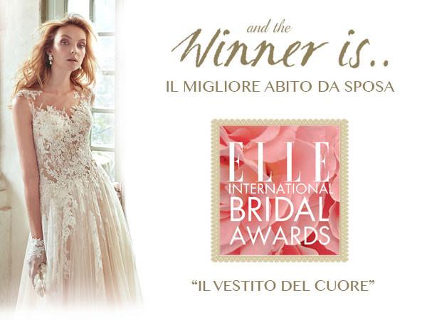 """Nicole a IDEA SPOSA 2.0 con l'abito vincitore degli Oscar di Elle come """"Miglior abito da Sposa al Mondo"""""""