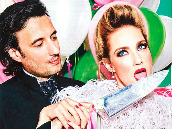 Dallo shooting di Vogue alla fiera IDEA SPOSA 2.0: venite ad ammirare i magnifici abiti by Carlo Pignatelli