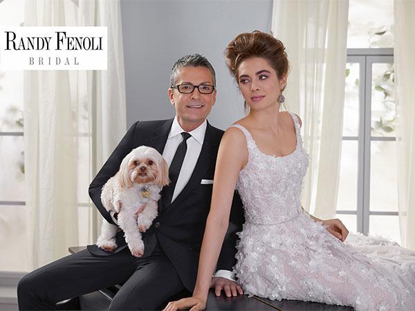 Scopri la Bridal Collection by Randy Fenoli in un'esposizione esclusiva de L'Atelier della Sposa